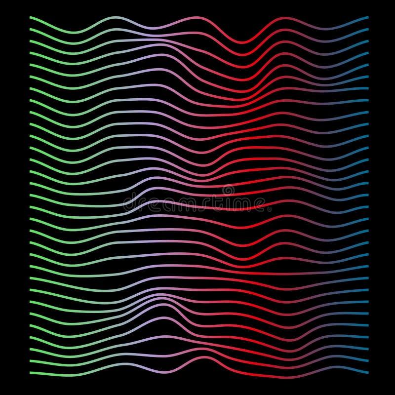 Linhas de cor abstratas fundo fotografia de stock royalty free