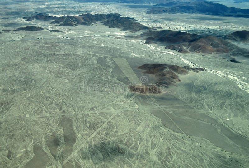 Linhas de Nazca: Trident fotografia de stock
