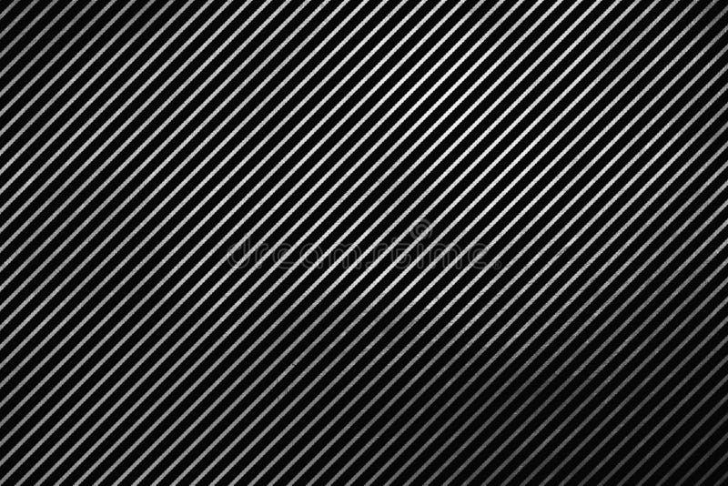 Linhas de prata Shinning teste padrão abstrato da textura digital criativa original no fundo preto Elemento do projeto ilustração stock