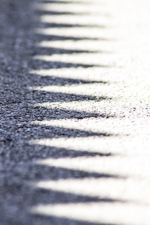 Linhas de sombras imagens de stock