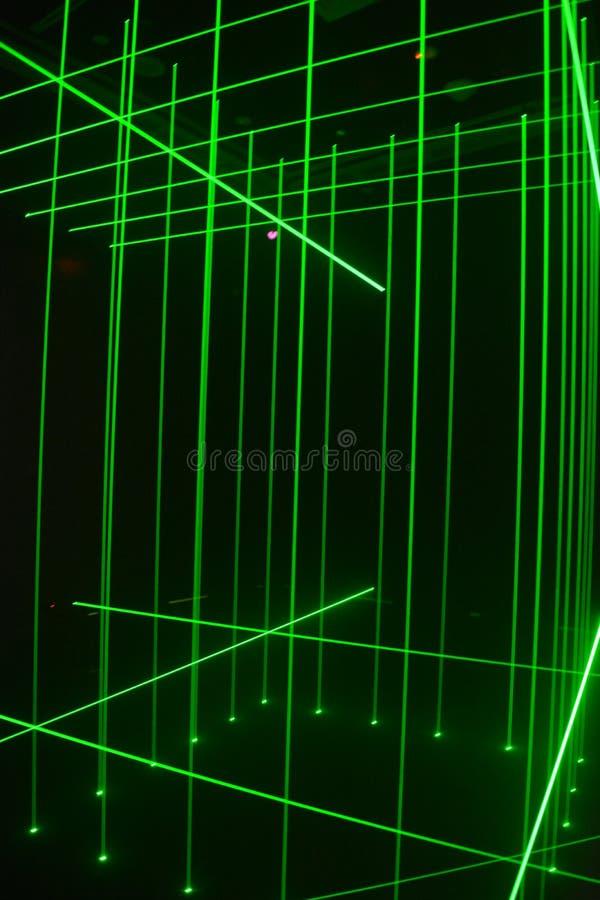 Linhas do laser imagem de stock royalty free