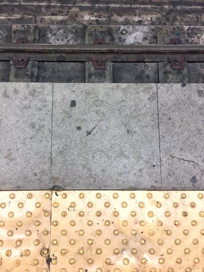 Linhas do metro fotos de stock
