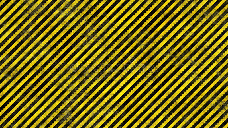 Linhas do perigo de Grunge ilustração do vetor