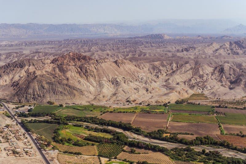 Linhas e geoglyphs de Nazca imagem de stock royalty free