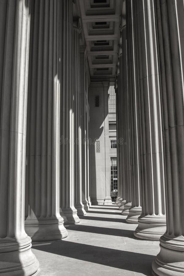 Linhas e sombras da educação imagem de stock