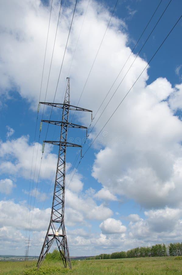 Linhas eléctricas foto de stock royalty free