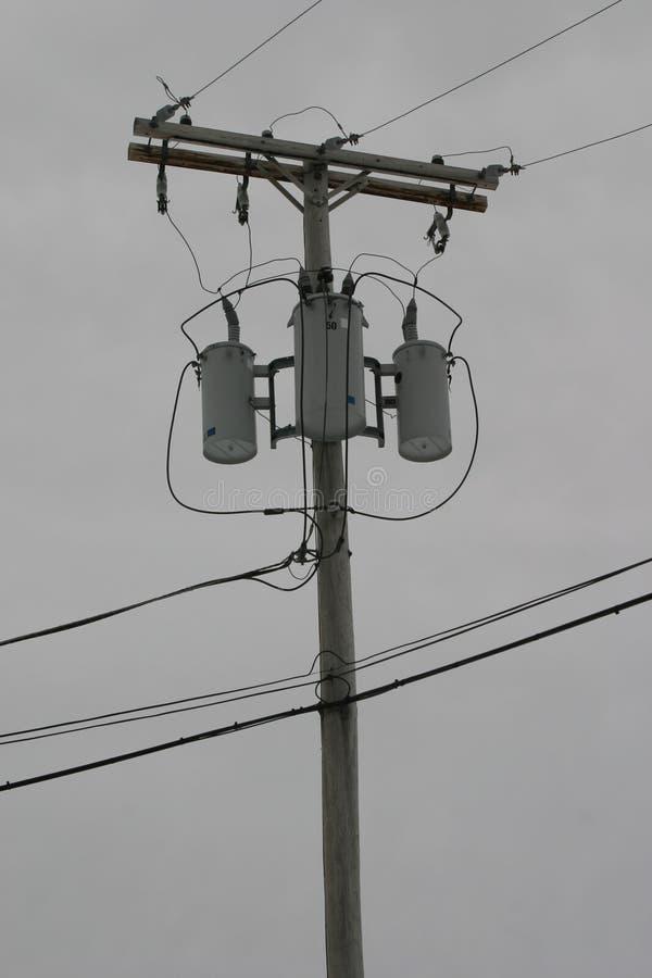 Download Linhas eléctricas foto de stock. Imagem de branco, telefone - 64490