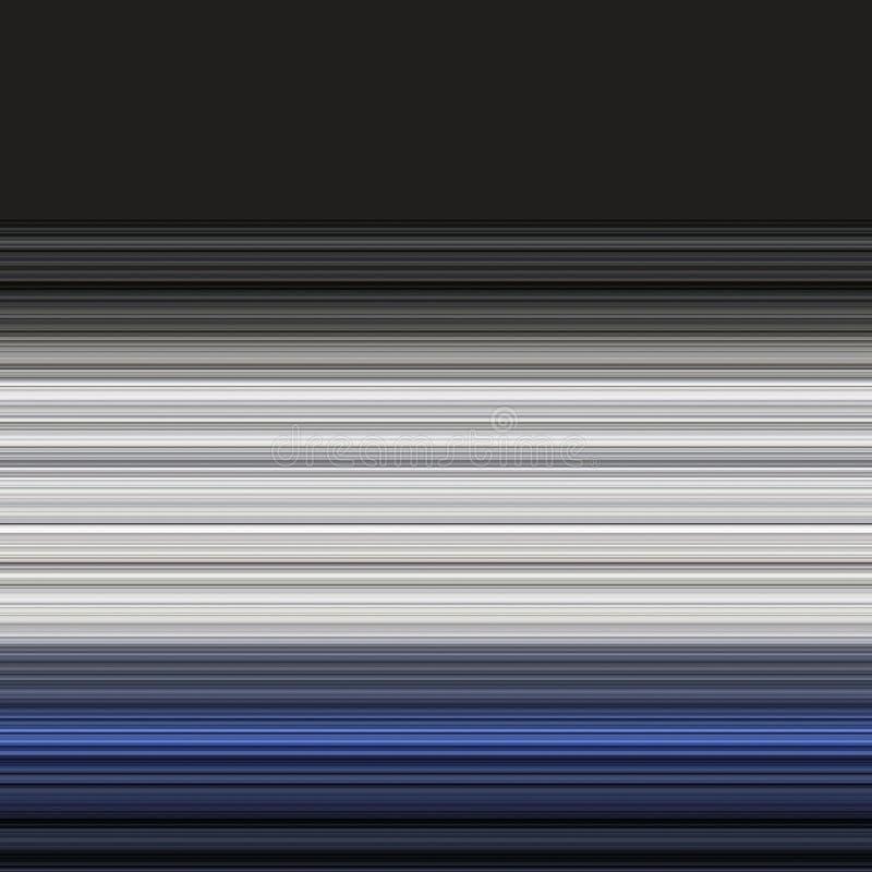 Linhas finas no preto ilustração do vetor
