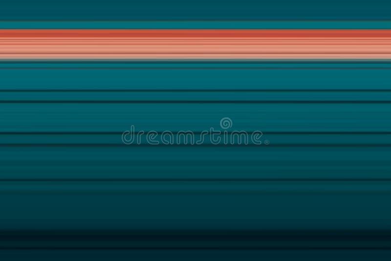 Linhas horizontais brilhantes fundo do sumário olorful do ¡ de Ð, textura em tons marinhos azuis ilustração stock