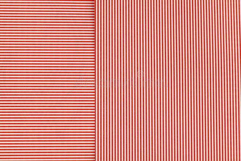 Linhas horizontais e verticais no cartão impresso ilustração stock