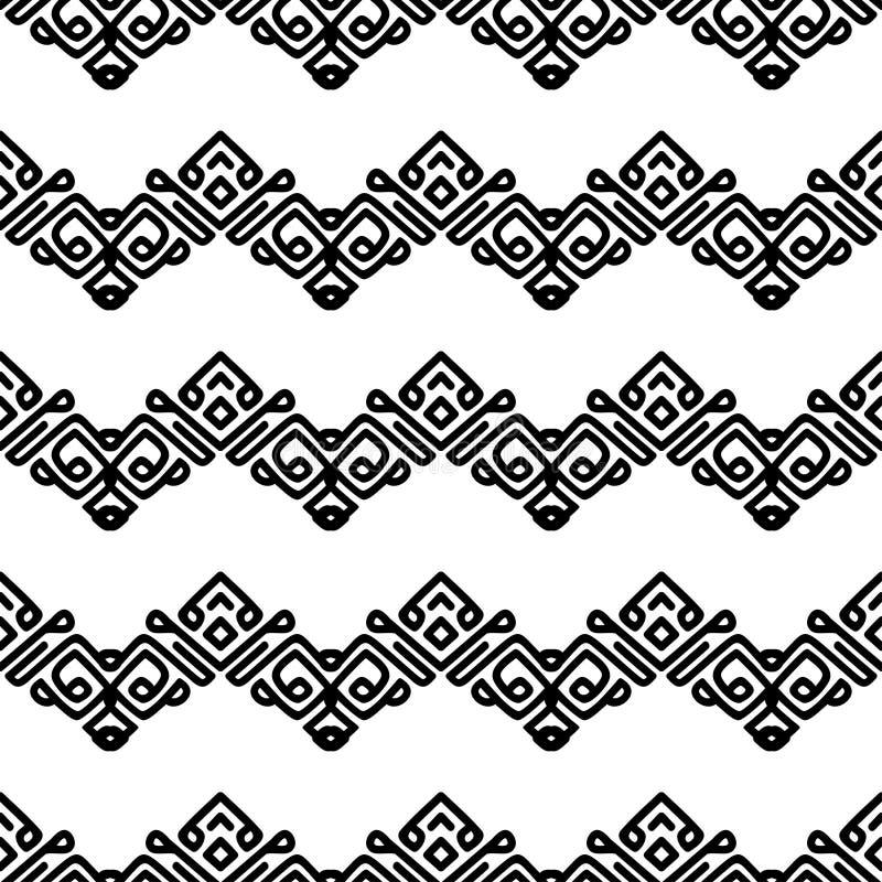 Linhas lisas pretas de roda no fundo branco ilustração stock