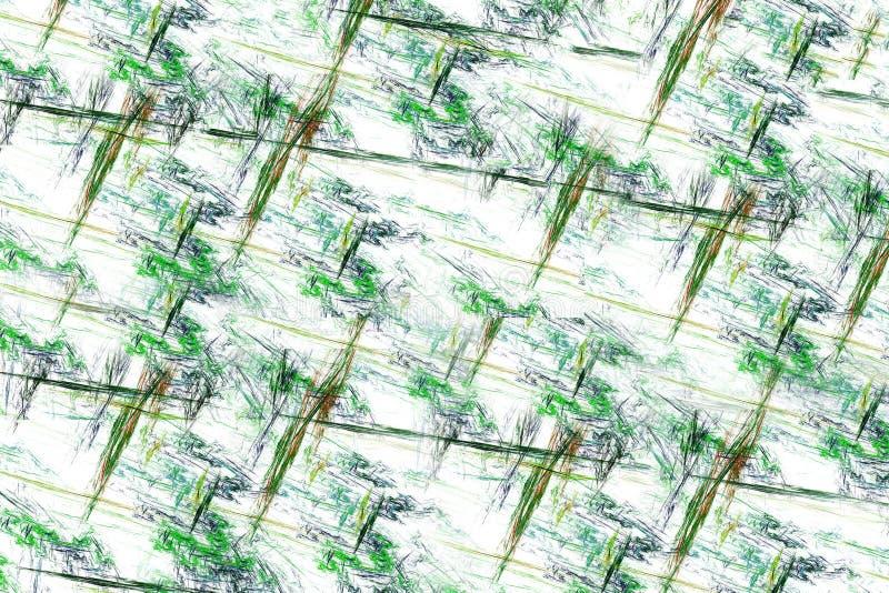 Linhas multicoloridos abstratas fotos de stock royalty free