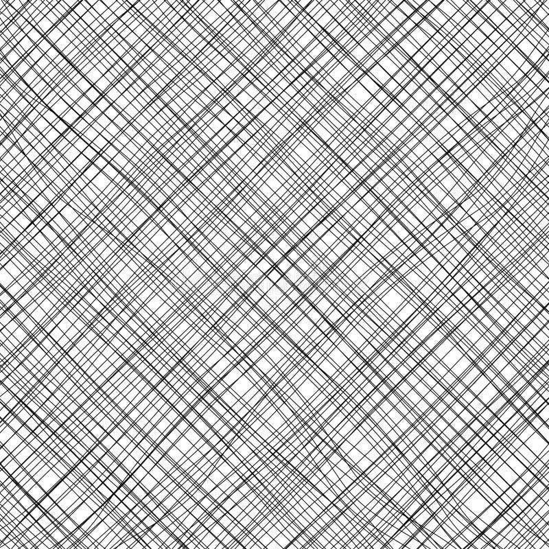 Linhas oblíquas de cruzamento no fundo branco foto de stock royalty free