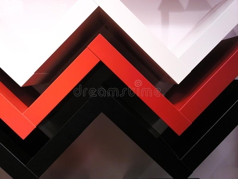 Linhas para finalidades arquitetónicas imagens de stock