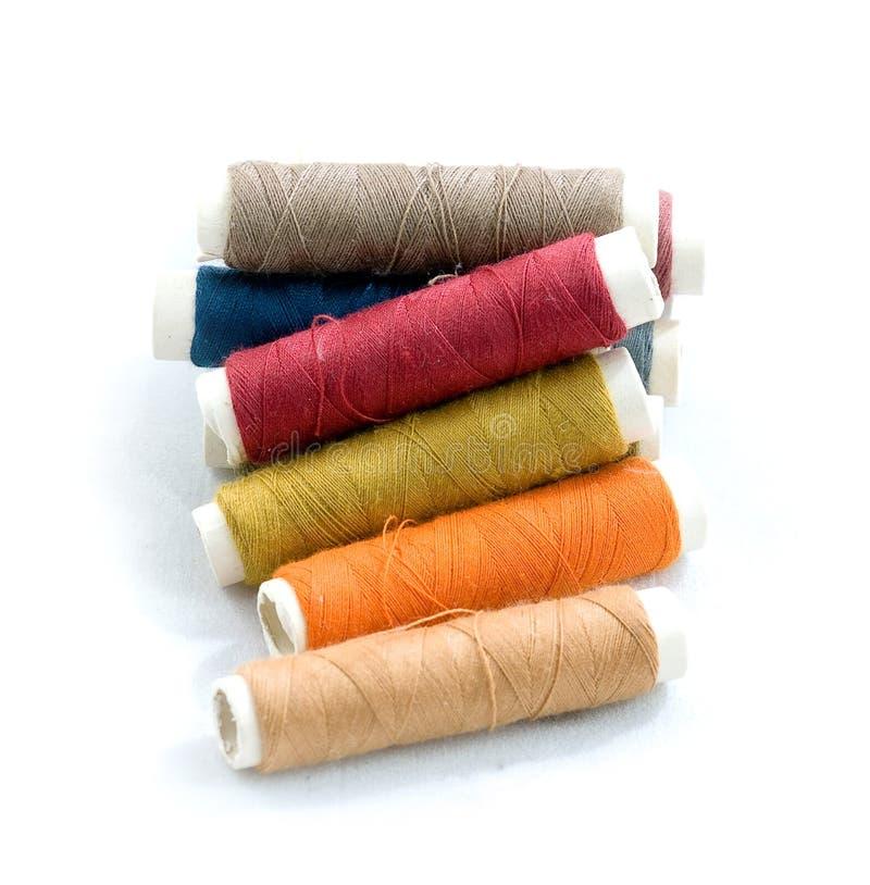 Download Linhas Sewing foto de stock. Imagem de bobina, ofício - 12802592