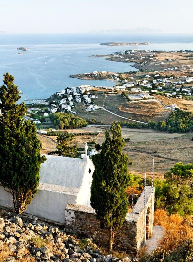 Download Linia Brzegowa Greckie Wyspy Zdjęcie Stock - Obraz: 22602598