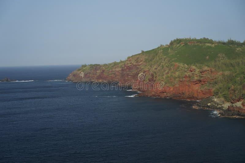 Linia brzegowa Maui wyspa zdjęcie stock