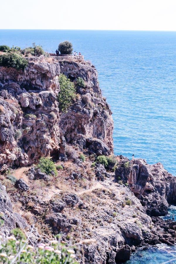 linia brzegowa, morze obrazy royalty free