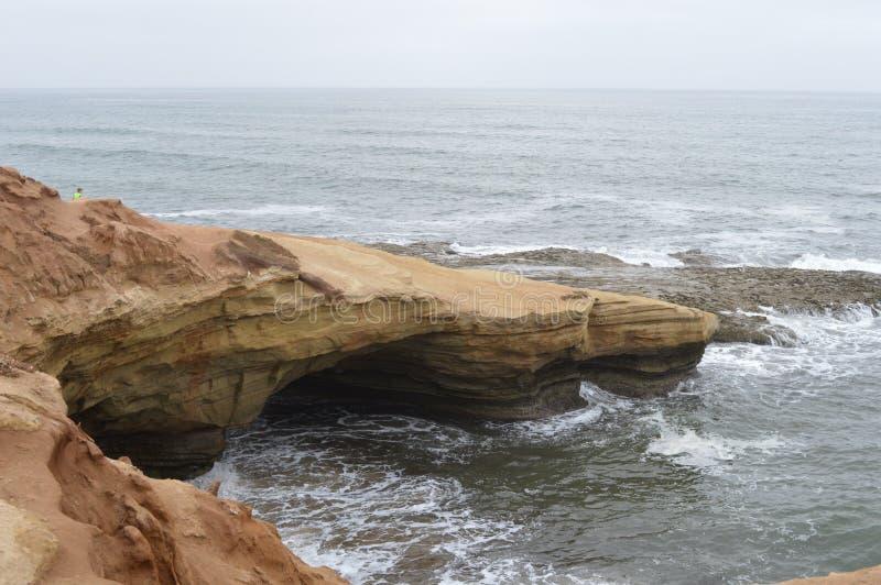linia brzegowa ocean Pacific fotografia stock