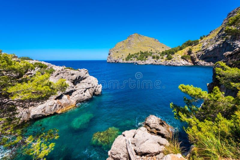 Download Linia Brzegowa Portowy De Sa Calobra Mallorca Hiszpania Zdjęcie Stock - Obraz złożonej z horyzontalny, dzień: 106902162