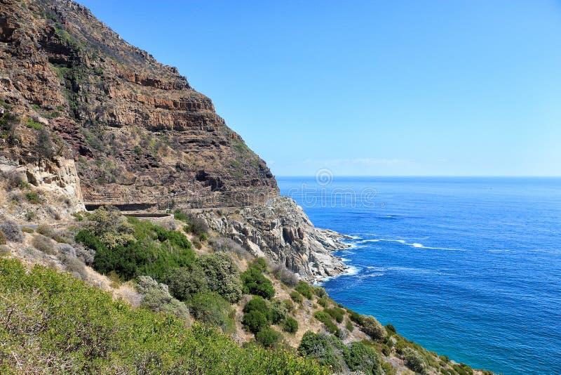 Linia brzegowa w Południowa Afryka zdjęcie stock