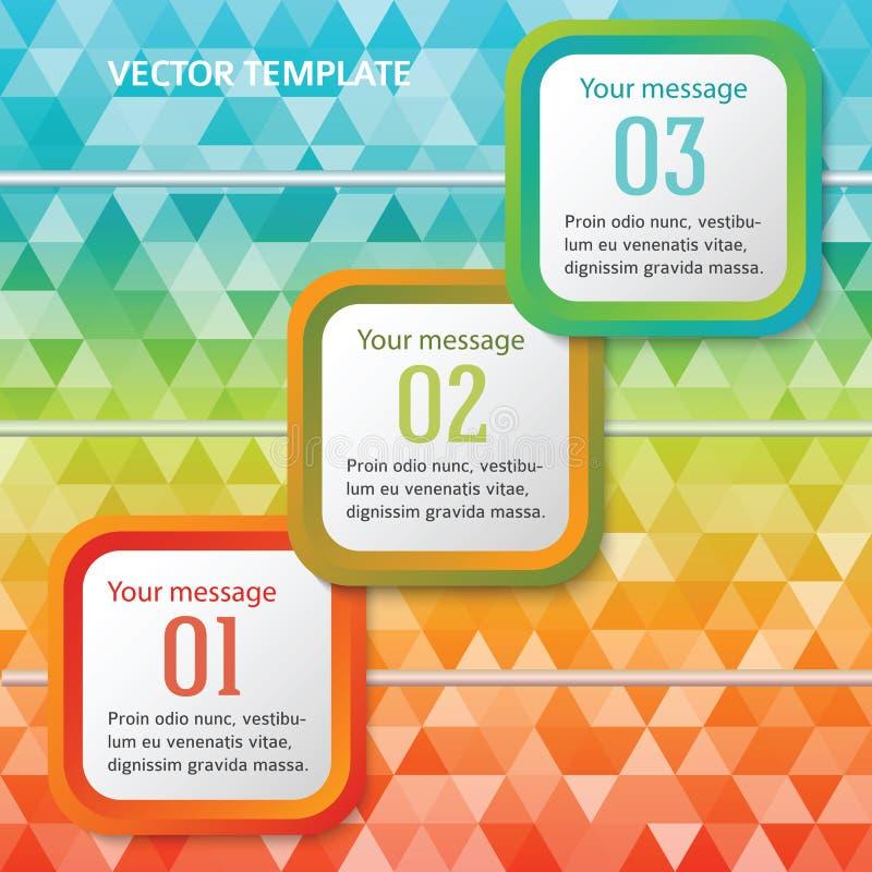 Linia czasu rozwojów biznesu strony broszury trójboka tło ilustracji