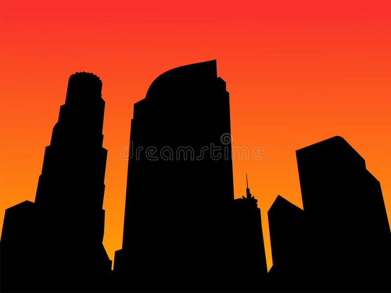 - linia horyzontu ilustracja wektor