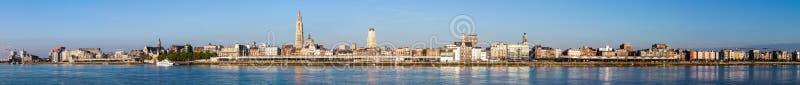Linia horyzontu Antwerp obraz royalty free