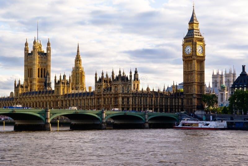 linia horyzontu england London obrazy stock
