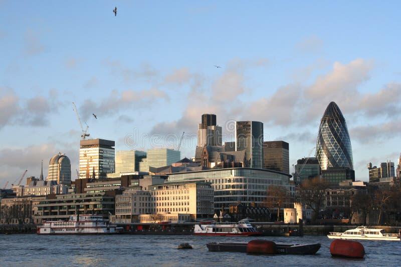 linia horyzontu miasta Londynu obraz royalty free