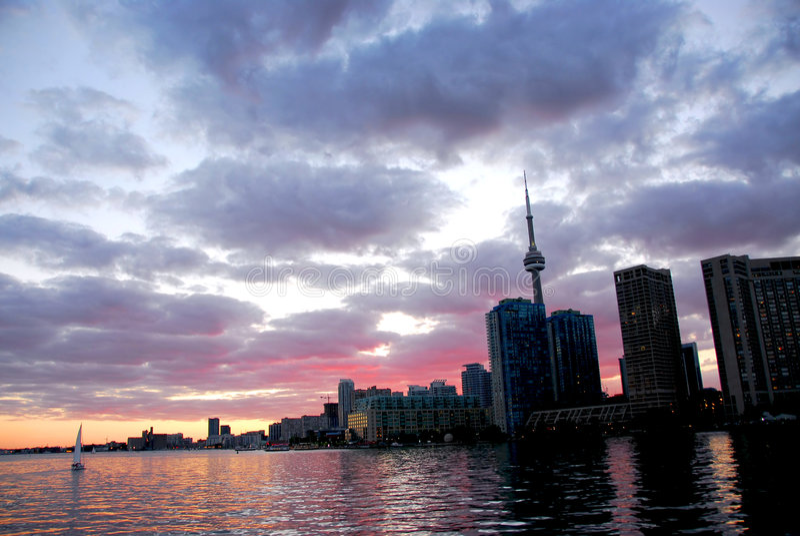 linia horyzontu miasto Toronto zdjęcia stock