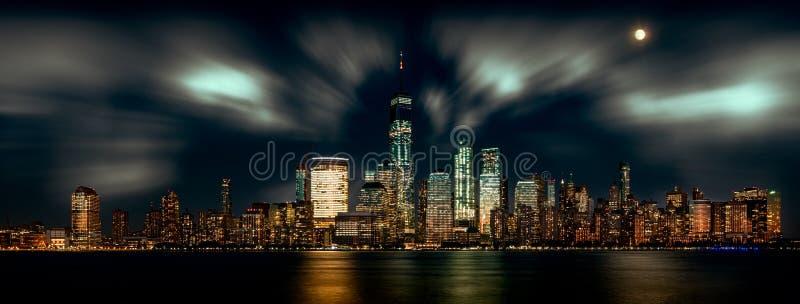 linia horyzontu nowego Jorku fotografia royalty free