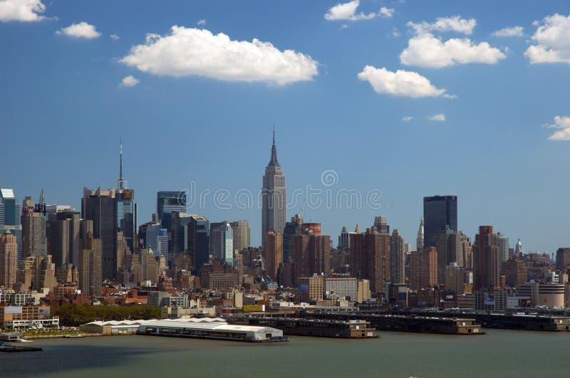 linia horyzontu nowego Jorku zdjęcia stock