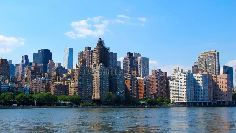 linia horyzontu nowego Jorku zdjęcia royalty free