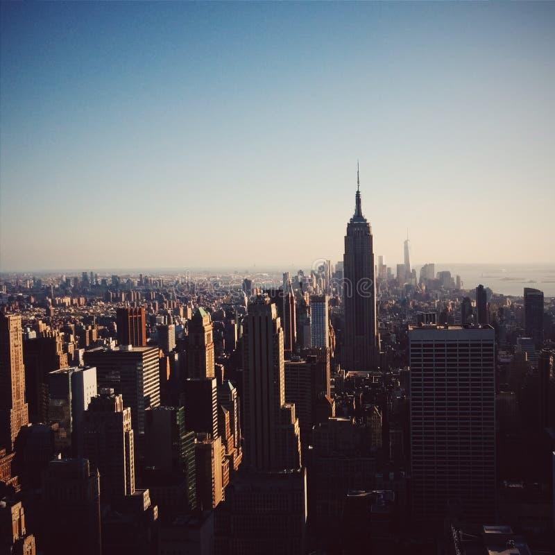 linia horyzontu nowego Jorku obrazy royalty free