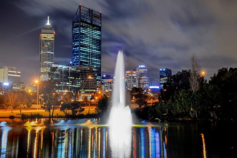 Linia horyzontu Perth obraz royalty free
