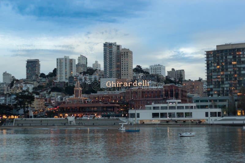 Linia horyzontu San Fransisco zdjęcie royalty free