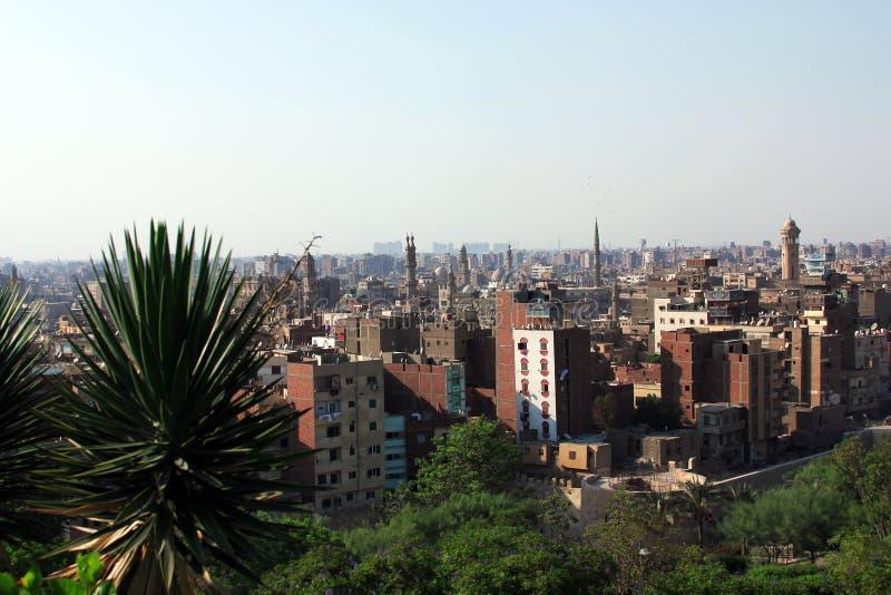 Linia horyzontu stary Cairo fotografia royalty free
