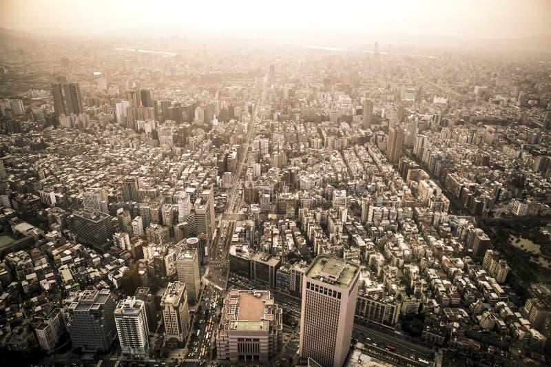 Linia horyzontu Taipei zdjęcia royalty free