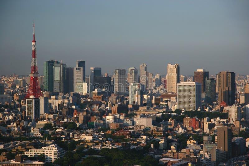 linia horyzontu Tokio zdjęcie royalty free