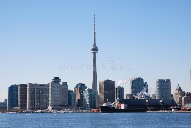 linia horyzontu Toronto zdjęcie stock
