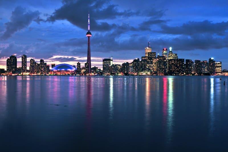 linia horyzontu Toronto zdjęcia royalty free