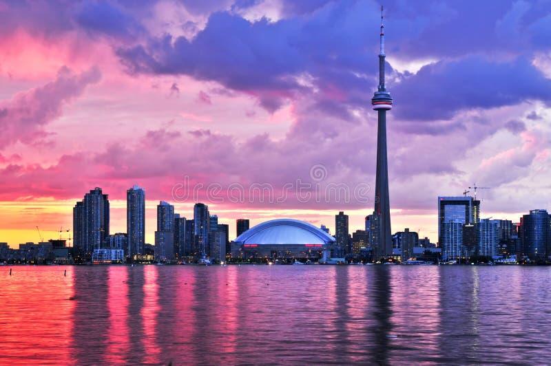 linia horyzontu Toronto obrazy royalty free