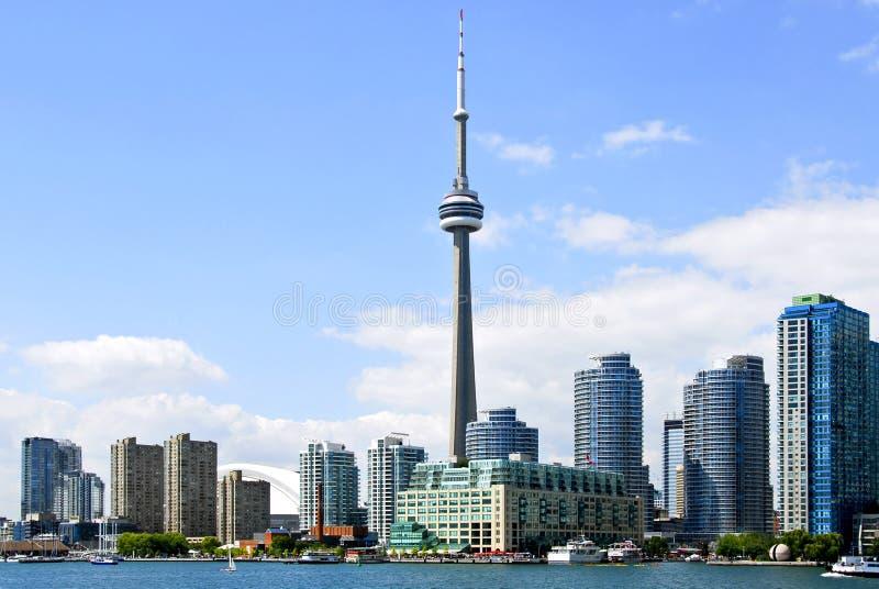 linia horyzontu Toronto fotografia stock