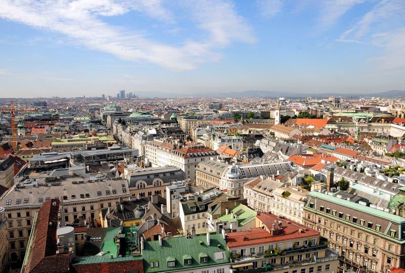 linia horyzontu Vienna obrazy stock