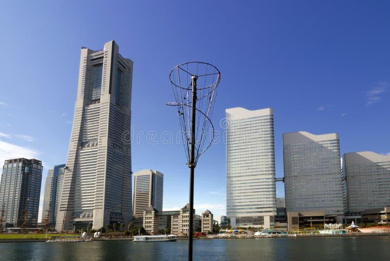 linia horyzontu Yokohama zdjęcia royalty free