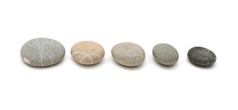 linia kamienie zdjęcie royalty free