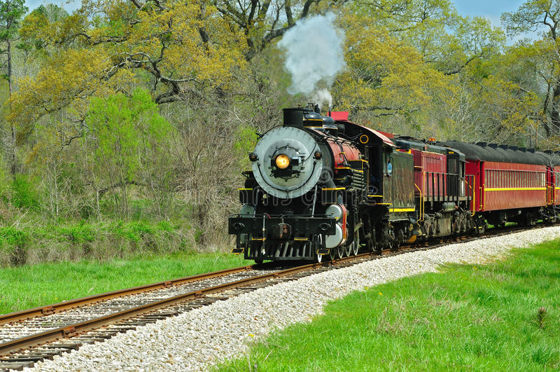 linia kolejowa fotografia royalty free