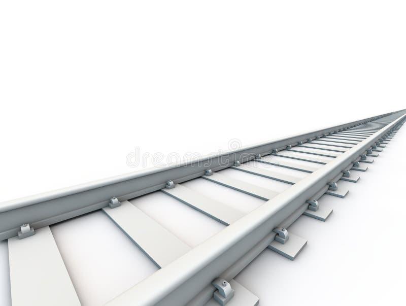 linia kolejowa ilustracja wektor