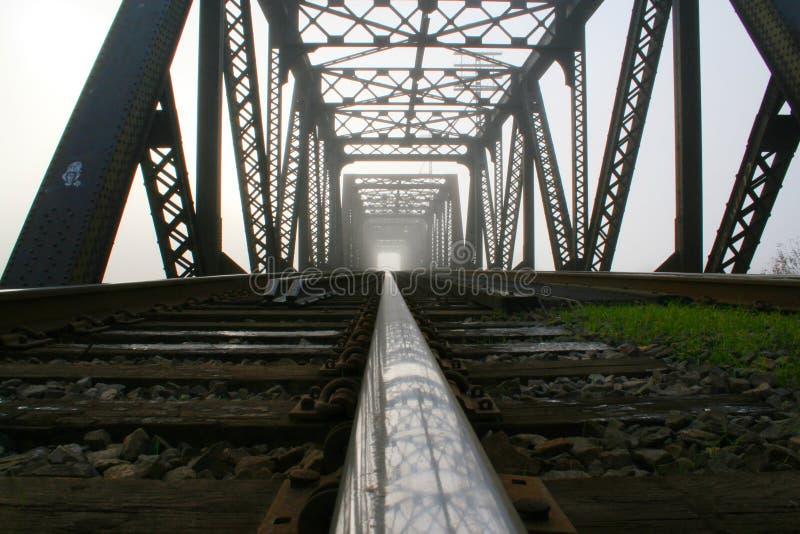 linia kolejowa bridge zdjęcia stock